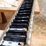 herstellen 80er jaren Roland keyboard